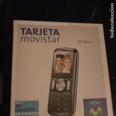 Teléfonos: TELEFONO EN SU CAJA SIN USAR MOVISTAR LG GB102 EN BLANCO. Lote 206182645