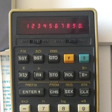 Antigüedades: CALCULADORA PROGRAMABLE HP-25C / WORKING VINTAGE HEWLETT PACKARD 25C FOR SALE AND ORIGINAL BOX. Lote 206193082