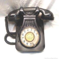 Teléfonos: TELÉFONO PARED TELEFÓNICA ESPAÑA BAQUELITA AÑOS 50, BUEN ESTADO. Lote 206194143
