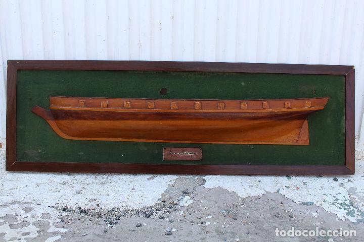 Antigüedades: marco de medio barco del prince de neufchatel 1813 - Foto 6 - 206199358