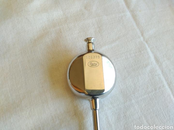 Antigüedades: Termómetro suizo clínico marca Cary con caja y funda. - Foto 2 - 206242737
