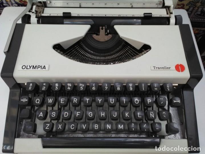 MÁQUINA DE ESCRIBIR OLYMPIA TRAVELER (Antigüedades - Técnicas - Máquinas de Escribir Antiguas - Olympia)