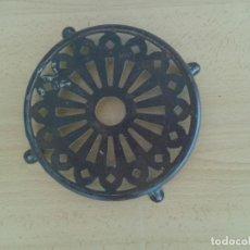 Antigüedades: BASE SOPORTE PLANCHA ANTIGUA REPOSA PLANCHAS SALVAMANTELES. Lote 206304612