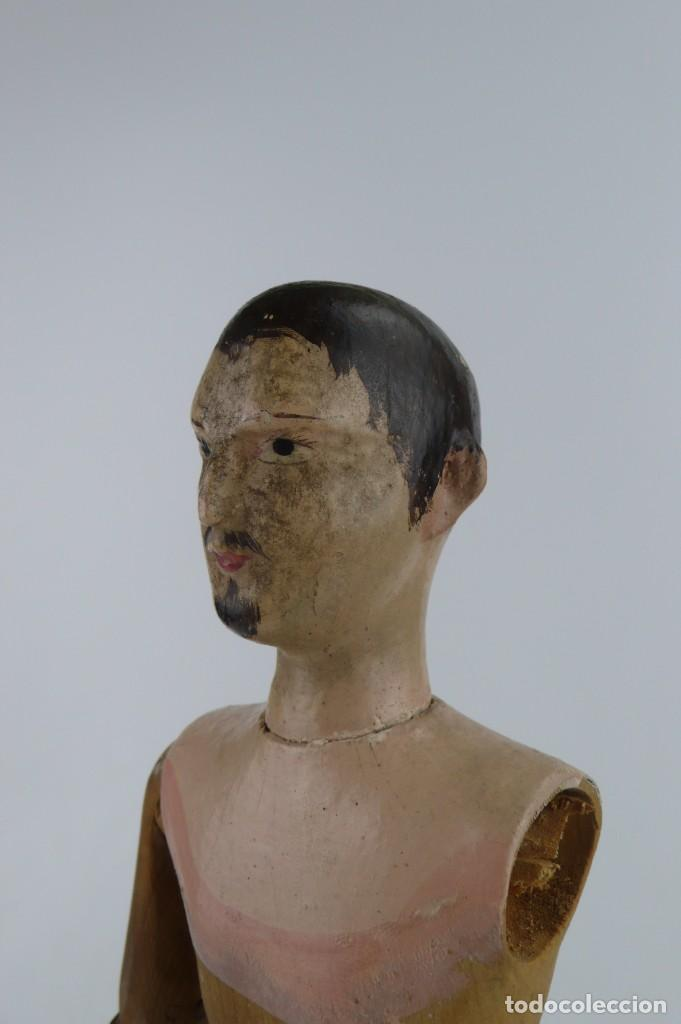 Antigüedades: Lay Figure, an articulated artists mannequin - carved wood - 33 cm - Francia,Ca.1820-40 - Foto 20 - 206316445