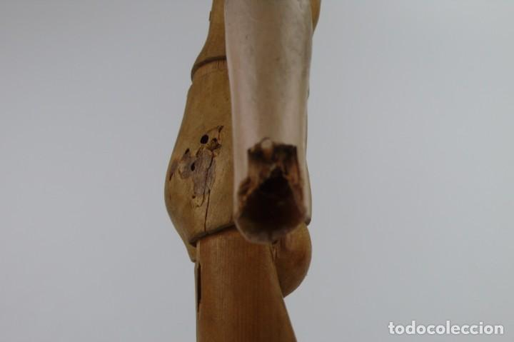 Antigüedades: Lay Figure, an articulated artists mannequin - carved wood - 33 cm - Francia,Ca.1820-40 - Foto 25 - 206316445