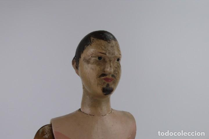 Antigüedades: Lay Figure, an articulated artists mannequin - carved wood - 33 cm - Francia,Ca.1820-40 - Foto 29 - 206316445