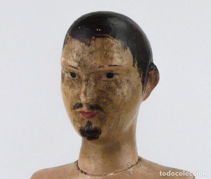 LAY FIGURE, AN ARTICULATED ARTIST'S MANNEQUIN - CARVED WOOD - 33 CM - FRANCIA,CA.1820-40 (Antigüedades - Técnicas - Varios)
