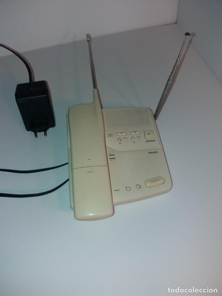 ESTUPENDO TELEFONO CENTRALITA PHILIPS D2NS MC AÑOS 90´S (Antigüedades - Técnicas - Teléfonos Antiguos)