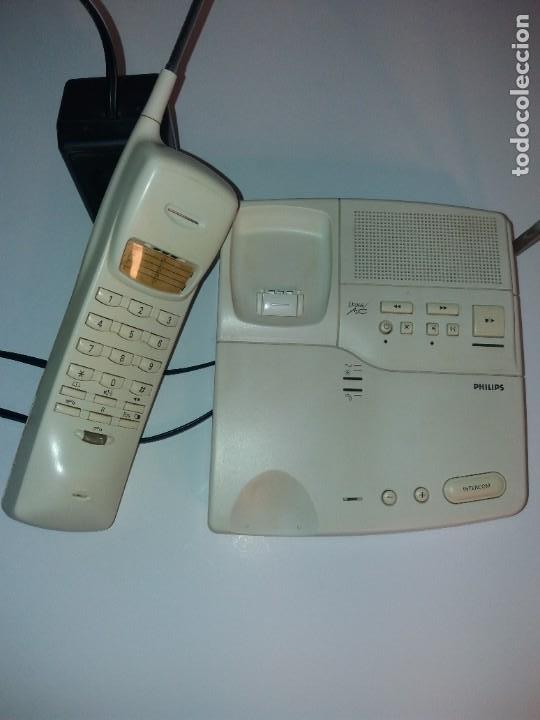 Teléfonos: ESTUPENDO TELEFONO CENTRALITA PHILIPS D2NS MC AÑOS 90´S - Foto 3 - 206365525
