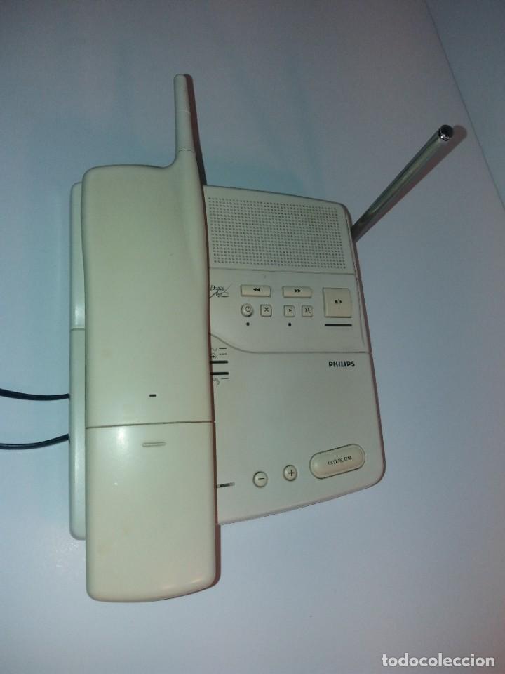 Teléfonos: ESTUPENDO TELEFONO CENTRALITA PHILIPS D2NS MC AÑOS 90´S - Foto 7 - 206365525