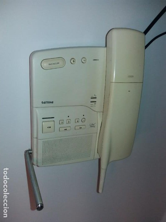 Teléfonos: ESTUPENDO TELEFONO CENTRALITA PHILIPS D2NS MC AÑOS 90´S - Foto 8 - 206365525