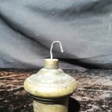 Antigüedades: ANTIGUA PLOMADA DE BRONCE. Lote 206401872