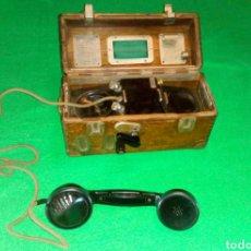 Teléfonos: TELÉFONO PORTÁTIL O DE CAMPAÑA, RENFE.. Lote 206414831