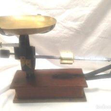 Antigüedades: BALANZA SOBREMESA 1 SÓLO PLATO DE 5 KG. Lote 206426562