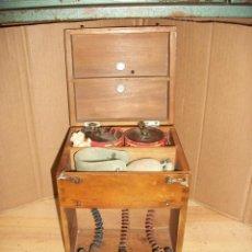 Antigüedades: ANTIGUO APARATO MEDICO-PARA DAR CORRIENTE-INGLES. Lote 206444198