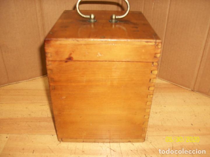 Antigüedades: ANTIGUO APARATO MEDICO-PARA DAR CORRIENTE-INGLES - Foto 9 - 206444198