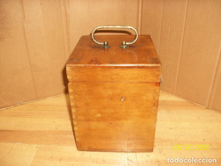 Antigüedades: ANTIGUO APARATO MEDICO-PARA DAR CORRIENTE-INGLES - Foto 11 - 206444198