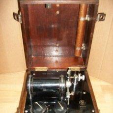 Antigüedades: ANTIGUO APARATO MEDICO-PARA DAR CORRIENTE-INGLES-STANLEY COX LTD-GERRARD S.T. Lote 206444458