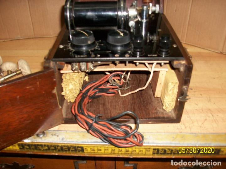 Antigüedades: ANTIGUO APARATO MEDICO-PARA DAR CORRIENTE-INGLES-STANLEY COX LTD-GERRARD S.T - Foto 2 - 206444458
