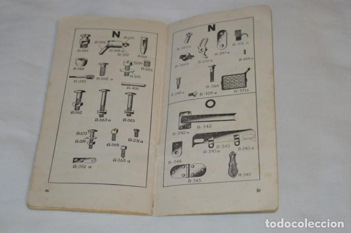 Antigüedades: Antiguo / Vintage - Guía / Folleto - Instrucciones para utilizar la Máquina de coser SIGMA - ¡Mira! - Foto 4 - 206449383