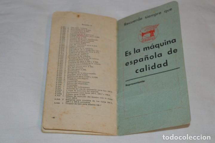 Antigüedades: Antiguo / Vintage - Guía / Folleto - Instrucciones para utilizar la Máquina de coser SIGMA - ¡Mira! - Foto 5 - 206449383