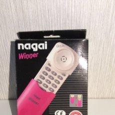 Teléfonos: TELÉFONO VINTAGE NAGAI WINNER DISEÑO AÑOS 80 NUEVO SIN USO EN SU CAJA. Lote 206459113