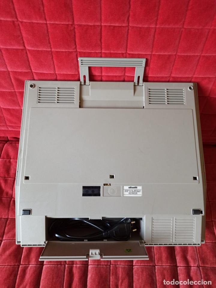 Antigüedades: MAQUINA DE ESCRIBIR ELECTRICA OLIVETTI LETTERA E 501-II (FUNCIONANDO) - Foto 4 - 206460960
