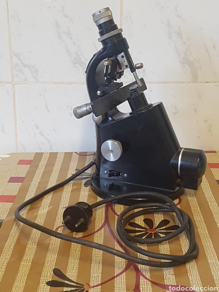 MICROSCOPIO LENSÓMETRO CARL ZEISS WINKEL / FRONTOFOCOMETRO - MEDICIÓN DE LENTES - OPTOMETRÍA. ALEMAN (Antigüedades - Técnicas - Instrumentos Ópticos - Microscopios Antiguos)