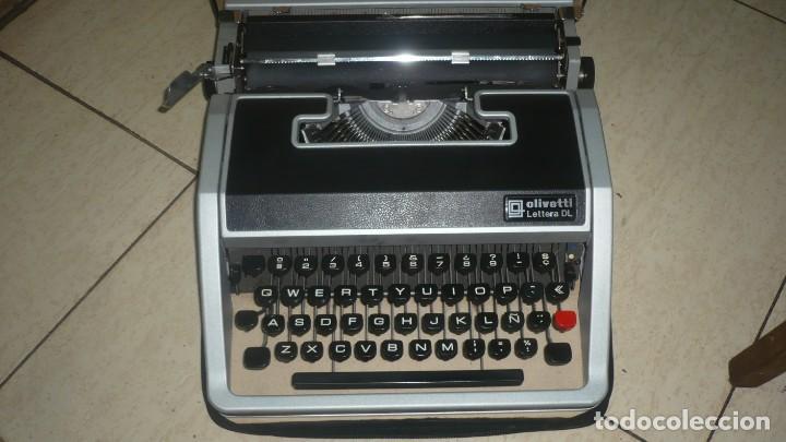 MÁQUINA OLIVETTI LETTERA DL (Antigüedades - Técnicas - Máquinas de Escribir Antiguas - Olivetti)