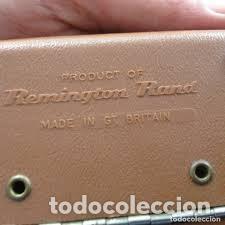 Antigüedades: maquina de afeitar remington 25 london,años 60/70, con estuche rigido original - Foto 6 - 206540365
