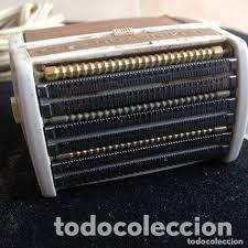 Antigüedades: maquina de afeitar remington 25 london,años 60/70, con estuche rigido original - Foto 7 - 206540365