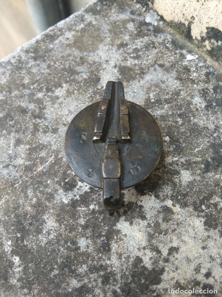 Antigüedades: VASOS ANIDADOS - PONDERALES - PESAS - VASO GUARDADOR - ESPAÑOL, EN BRONCE - SIGLO XIX - S / 4 / 2 - Foto 3 - 206543776
