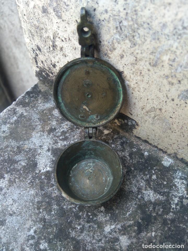 Antigüedades: VASOS ANIDADOS - PONDERALES - PESAS - VASO GUARDADOR - ESPAÑOL, EN BRONCE - SIGLO XIX - S / 4 / 2 - Foto 6 - 206543776