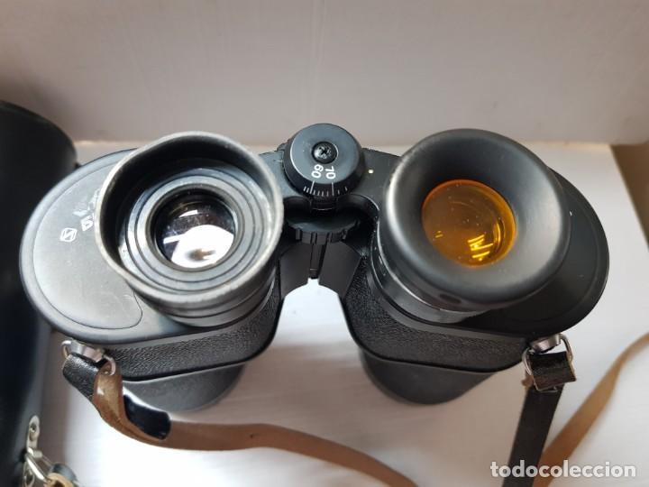 Antigüedades: Prismáticos militares Tento 10x50 completos y filtros anti reflejos en funda original - Foto 5 - 206547227