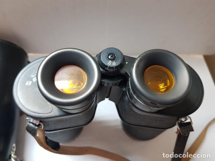 Antigüedades: Prismáticos militares Tento 10x50 completos y filtros anti reflejos en funda original - Foto 6 - 206547227
