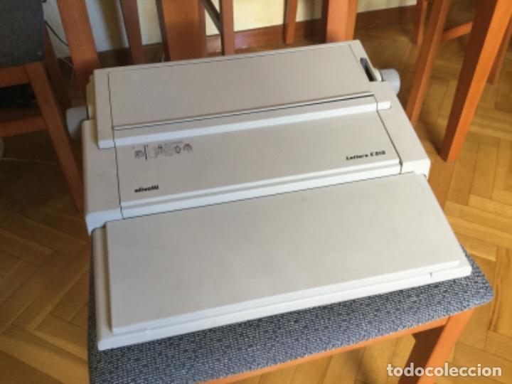 Antigüedades: Maquina de Escribir Eléctrica Olivetti - Foto 2 - 206558476
