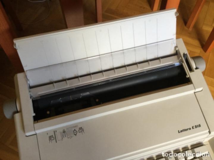 Antigüedades: Maquina de Escribir Eléctrica Olivetti - Foto 4 - 206558476