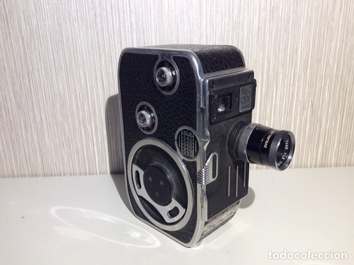 BOLEX- PAILLARD C-8 FUNCIONADO. (Antigüedades - Técnicas - Aparatos de Cine Antiguo - Cámaras de Super 8 mm Antiguas)
