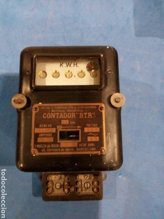 CONTADOR B.T.R (Antigüedades - Técnicas - Herramientas Profesionales - Electricidad)