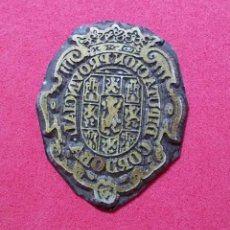 Antigüedades: ANTIGUO TAMPON SELLO TIPOGRAFICO IMPRENTA..ESCUDO DIPUTACION PROVINCIAL CORDOBA. Lote 206754936