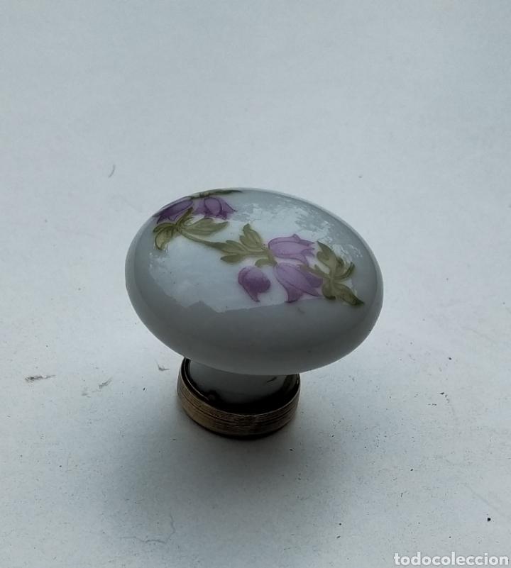 Antigüedades: Pomo tirador de porcelana - Foto 4 - 206761817