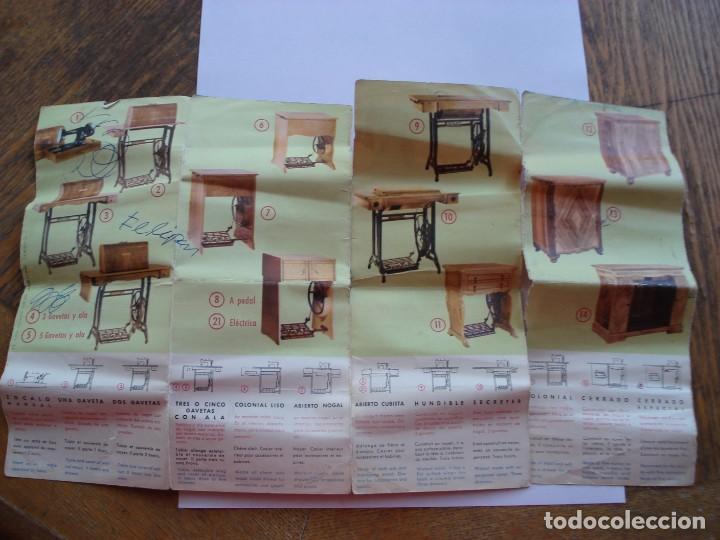 Antigüedades: CATALOGO MAQUINAS DE COSER SIGMA - Foto 2 - 206767081