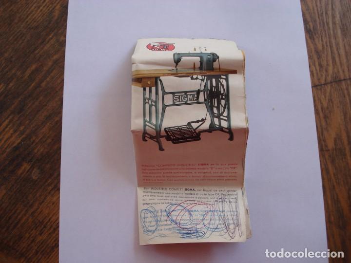 Antigüedades: CATALOGO MAQUINAS DE COSER SIGMA - Foto 3 - 206767081
