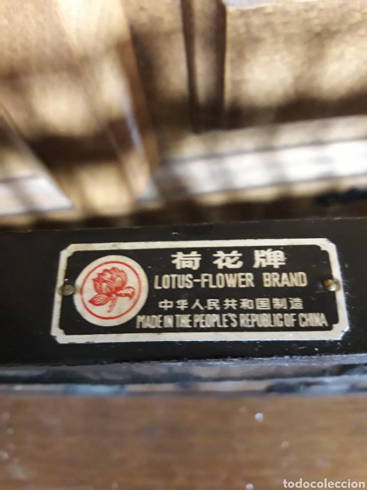 Antigüedades: Antiguo ábaco de madera chino - Foto 2 - 206777770