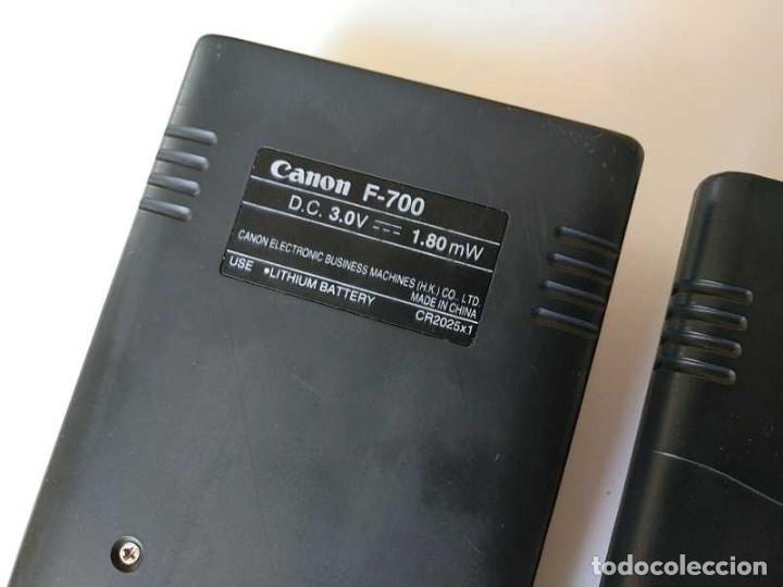 Antigüedades: CALCULADORA CANON F-700 PROGRAMABLE CIENTIFICA ESTADISTICA PROGRAMMABLE STATISTICAL NO FUNCIONA - Foto 64 - 206789071