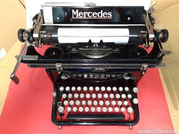 ÁNTIGUA MAQUINA DE ESCRIBIR MERCEDES (Antigüedades - Técnicas - Máquinas de Escribir Antiguas - Mercedes)