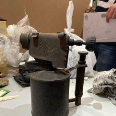 Antigüedades: ANTIGUO SOPLETE DE METAL MARCA SERROT, VER FOTOS. Lote 206892150