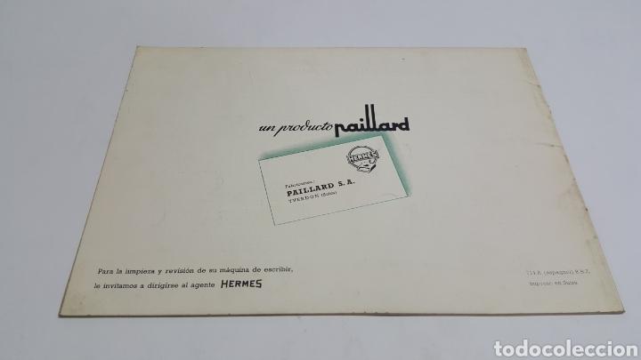 Antigüedades: Manual de Instrucciones original Máquina de escribir Hermes Ambassador - Foto 2 - 206897678