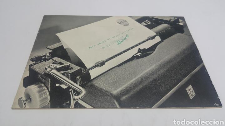 MANUAL DE INSTRUCCIONES ORIGINAL MÁQUINA DE ESCRIBIR HERMES STANDARD 6 (Antigüedades - Técnicas - Máquinas de Escribir Antiguas - Hermes)