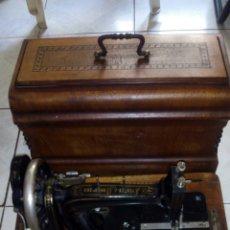 Antigüedades: MAQUINA DE COSER, FRISTER&ROSSMAN, FUNCIONA BIEN. Lote 206904780